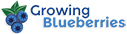 Growingblueberries LOGO - for more information visit Growingblueberries.com.au
