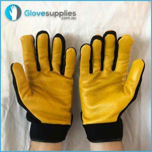 Soft Leather Mechanics Gloves - for more info go to glovesupplies.com.au