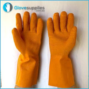 Harpoon Fishing Gauntlet Glove - for more info go to glovesupplies.com.au