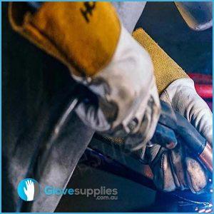 Kevlar TIG Welding Gauntlet - for more info go to glovesupplies.com.au