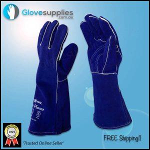 Blue Premium Kevlar Welders Glove