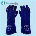 Blue Premium Kevlar Welders Glove - for more info go to glovesupplies.com.au